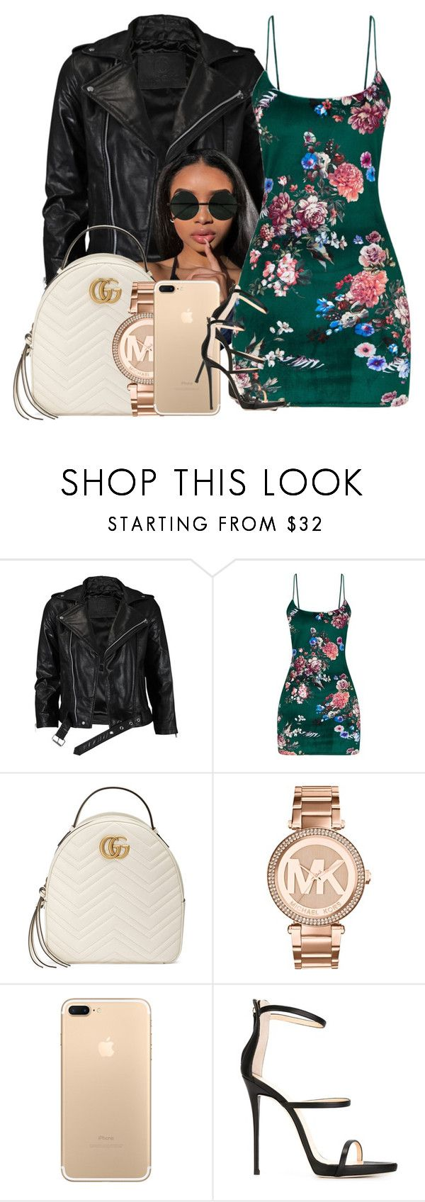"""""""173"""" by jalay ❤ liked on Polyvore featuring VIPARO, Gucci, Michael Kors and Giuseppe Zanotti"""
