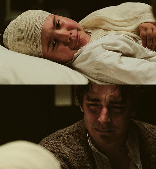 there's no happy ending with me. scene from the movie 'the fall' . Lee Pace & Catinca Untaru