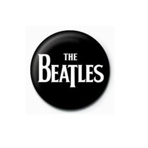 Pyramid International Rozet - The Beatles (White Logo) - 25 mm Rozet - BunlardanIstiyorum.com