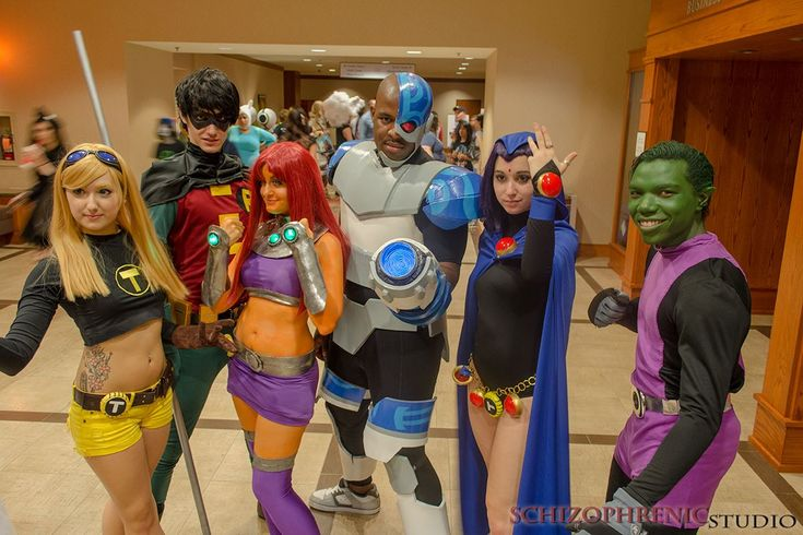 The Teen Titans. The starfire one isn't the best but overall this is adorable