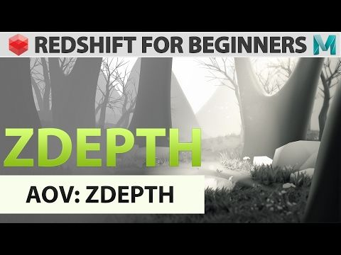 Redshift For Beginners - AOV -  Zdepth - YouTube