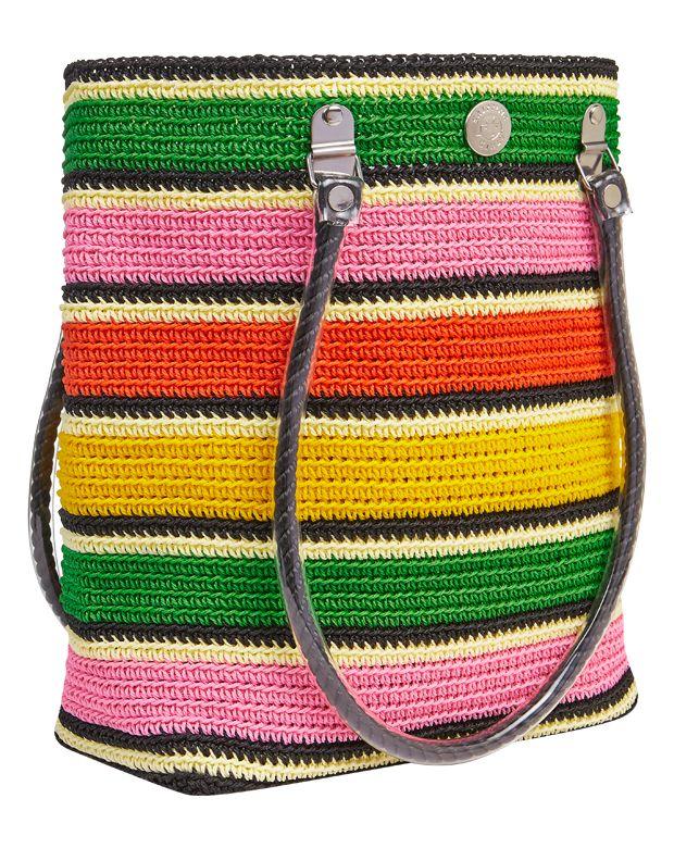 Licorice Stripe #skippinggirl #tote #handbag #fashion #beachbag #beach #licorice #stripe