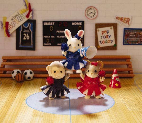 Toys For Cheerleaders : Big cheer for cloverleaf corners toys calico critters