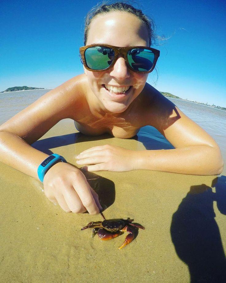 Crabtastic! #beach #hot #crab  #sun #summer #sunnys #friendship #straya #fitbit #lifeisgood #hotdays #30degrees #gopro #australia #tanning