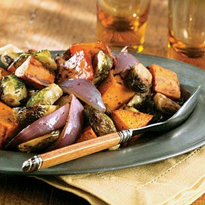 10/21/2013 Roasted Fall Vegetables. Image from: http://www.myrecipes.com/recipe/roasted-fall-vegetables-10000001979590/