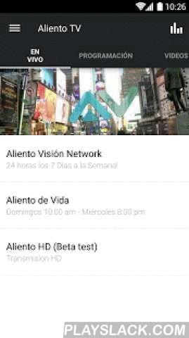 Aliento Vision TV Network  Android App - playslack.com ,  Bienvenidos a la aplicación oficial de Aliento Visión para móviles. Explora la variedad de nuestro contenido, compártelo con tus amigos atreves de Facebook, Twitter o vía email.Para información de nuestro ministerio visítenos a nuestra pagina de internet http://www.alientovision.comThe Aliento Vision TV Network App was created with the Subsplash App Platform.App: © 2016 Subsplash, Content: © 2016 Aliento Vision TV Network. All rights…