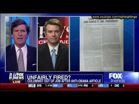 Fired Reporter Drew Johnson speaks out on his firing Fox and Friends