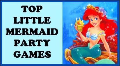 mermaid games for your D.I.Y little mermaid birthday party D.I.Y
