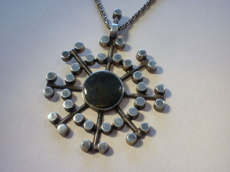 Jorma Laine, for Kultateollisuus Ky, Finland, spectrolite silver ...
