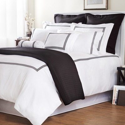 Love:  Comforters, Duvet Sets, Embroidered Stripes, Duvet Covers, Roxbury Parks, Master Bedrooms,  Puff, Beds Sets, Baratto Duvet