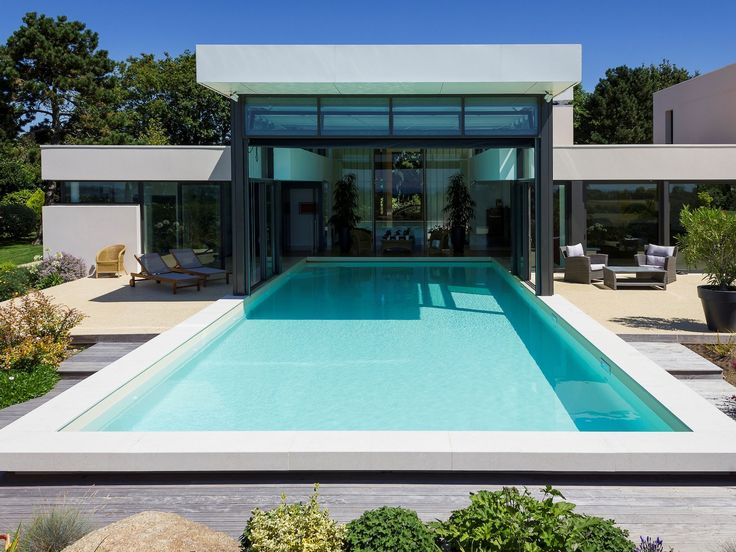 97 best Piscines images on Pinterest Pools, Modern pools and