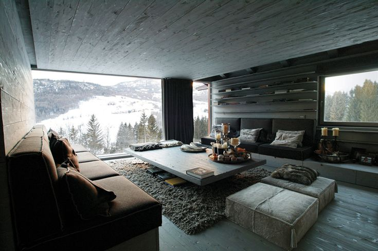 Oltre 25 fantastiche idee su case di montagna su pinterest for Case interni design
