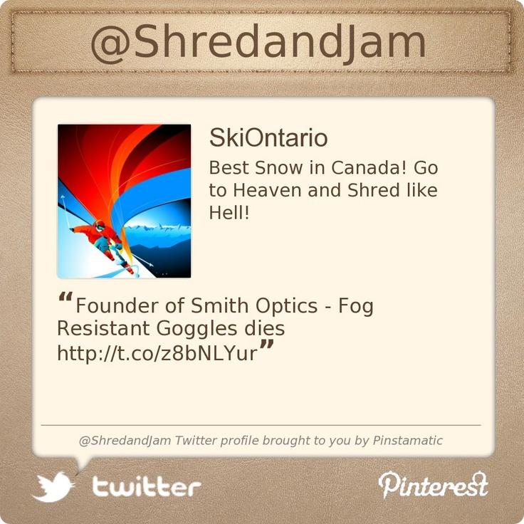 @ShredandJam's Twitter profile