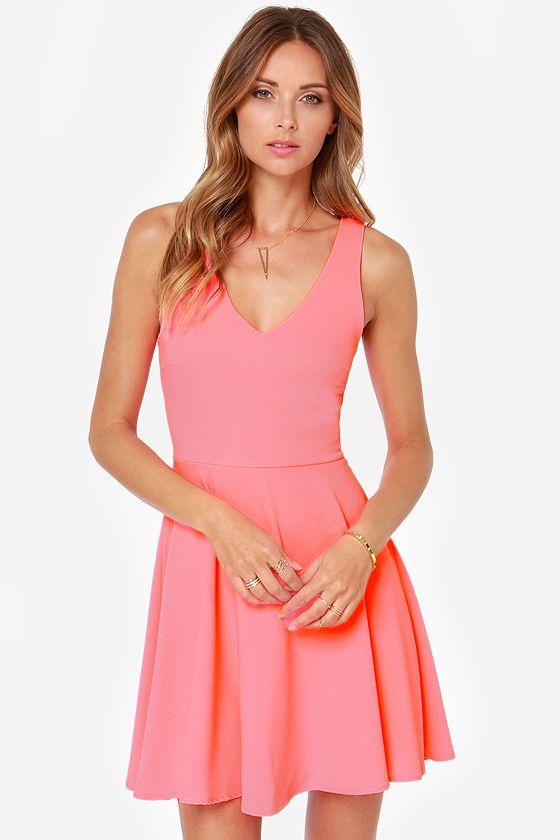 55 best DRESS PINK images on Pinterest | Dress skirt, Skater dress ...