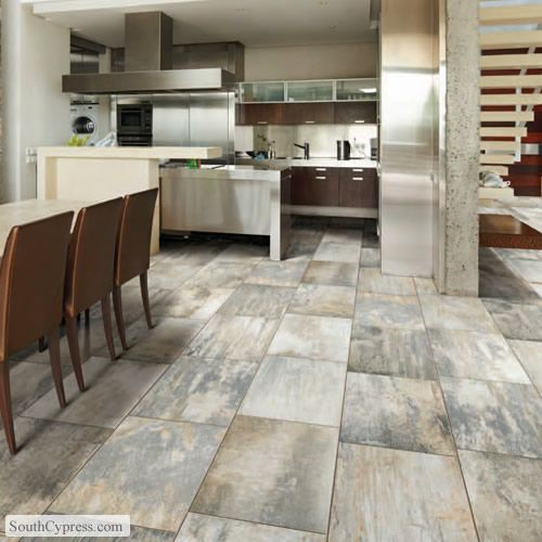 Vintage woodlands 6 x 24 morning porcelain tile kitchen modern and modern contemporary - South cypress wood tile ...