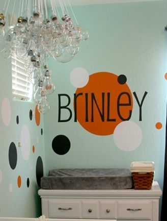 Nursery Decor Ideas with Baby's Name