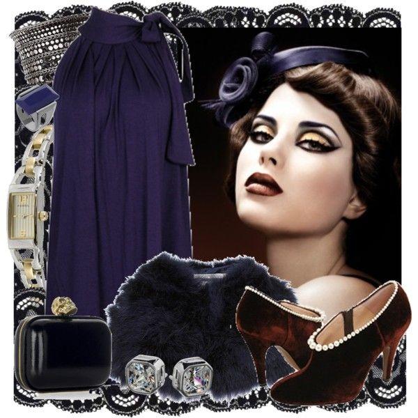 """""""Elegant"""" by sonia32 on Polyvore #1920sfashion #fashion #evening"""