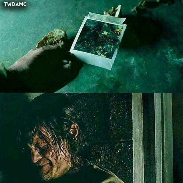 Don't show him Glenn's head :(