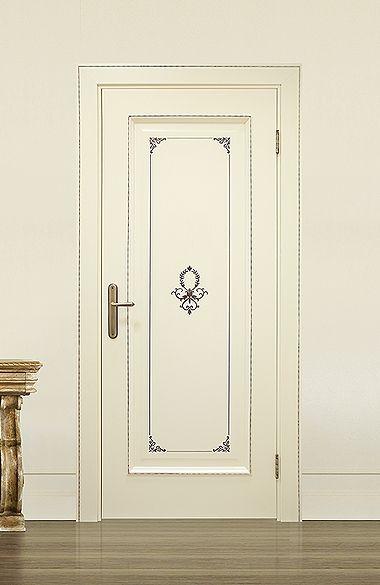 Межкомнатная дверь «Сиэтл». Отделка «слоновая кость» #дверирулес #двери…