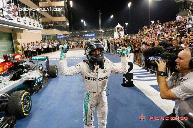"""Ecclestone: """"Rosberg es un campeón, pero no está entre los grandes"""""""