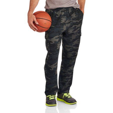 AND1 Big Men's Double Team Cargo Pant, Multicolor