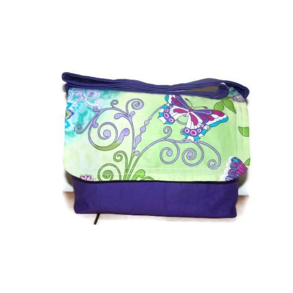 $18.00 Childs Messenger Bag by With2LittlePeas on Handmade Australia