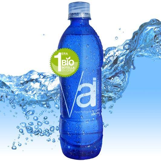 Te presentamos a las Aguas Vai: su botella se degrada en 80 días vs. 500 años y ahora se vende en Chile - El Definido