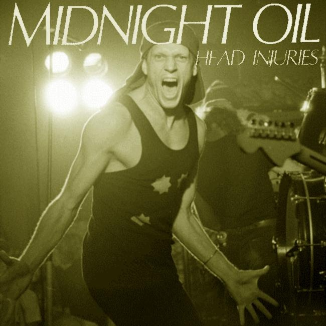 Midnight Oil - 'Head Injuries' full album photo art from 1979.