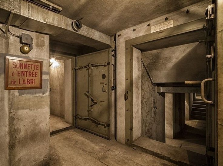 Discovered a secret bunker under the East Railway Station