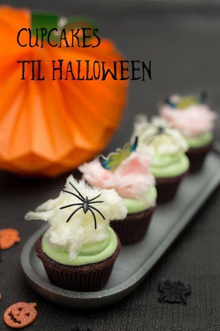 Cupcakes til Halloween