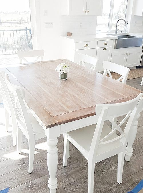 Dining Table Re-Makeover