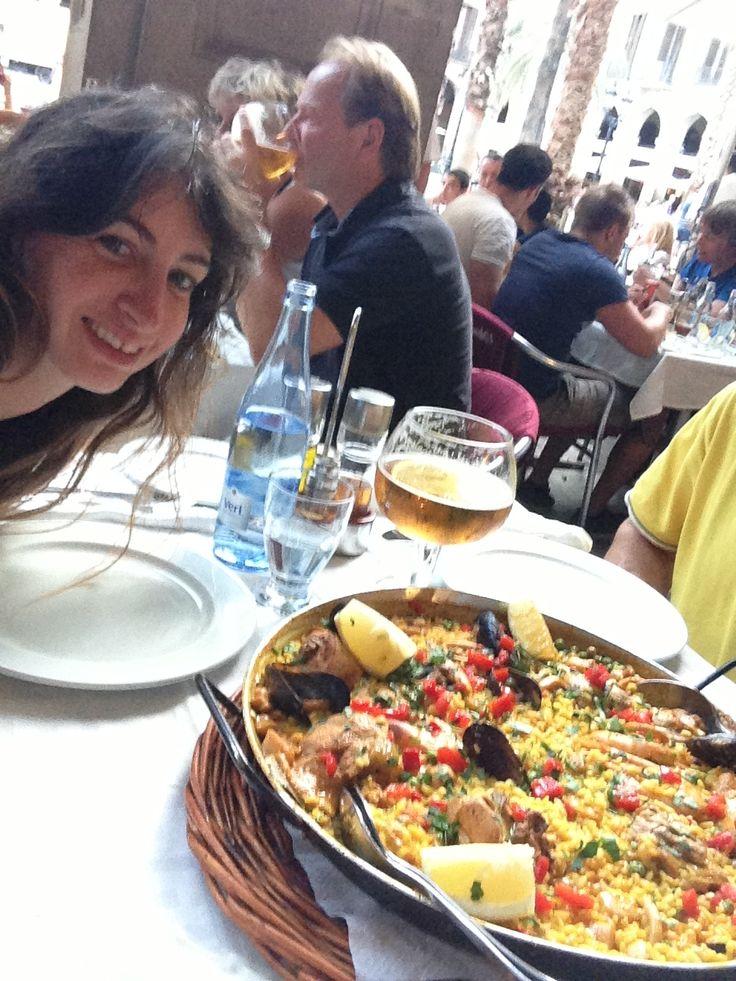 Paella rules in Barcelona!