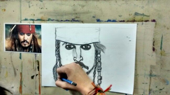 Desenhando Yasmin