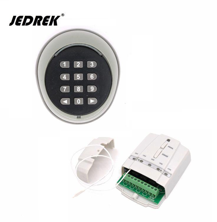 433 mhz 2 Canaux Sans Fil Clavier mot de passe commutateur Avec contrôleur pour porte porte de contrôle D'accès serrure électrique