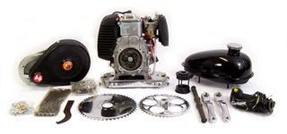 49cc 4 Stroke 4G T Belt Drive Complete Gas Powered Engine Kit