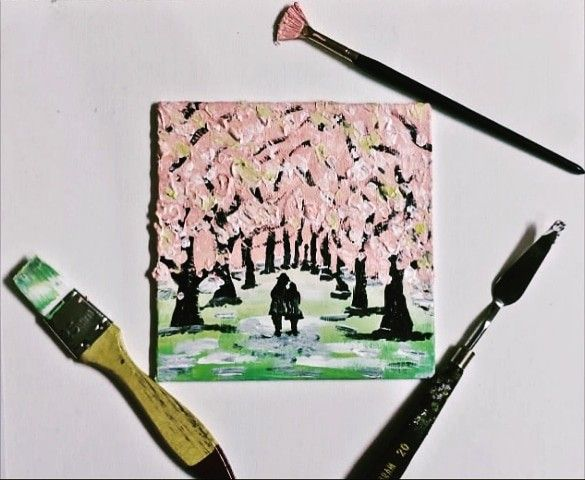 Love Under Cherry Blossoms Cherry Blossom Tree Blossom Trees Cherry Blossom