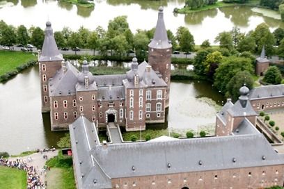 Kasteel Hoensbroek in Zuid-Limburg