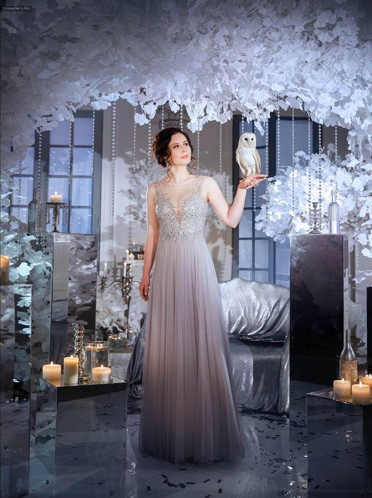 Платье в аренду #Basix Tulle Open Back GownРазмеры: 2 (RUS:42, USA:XS), 6 (RUS:44, USA:S)  прокат платья 6 500 руб. за один три дня залог 5 000 руб.