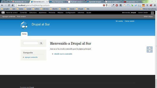 Primer vídeo del curso dedicado a Views en Drupal 7.