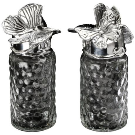 Arthur Court Butterfly Salt and Pepper - #2H625 | LampsPlus.com