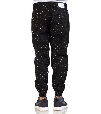 PUBLISH Stars jogger pants Zip and button closure 2 side pockets and 2 back pockets All-over stars print