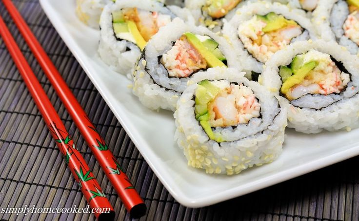 Simply Homecooked – Shrimp Tempura Roll