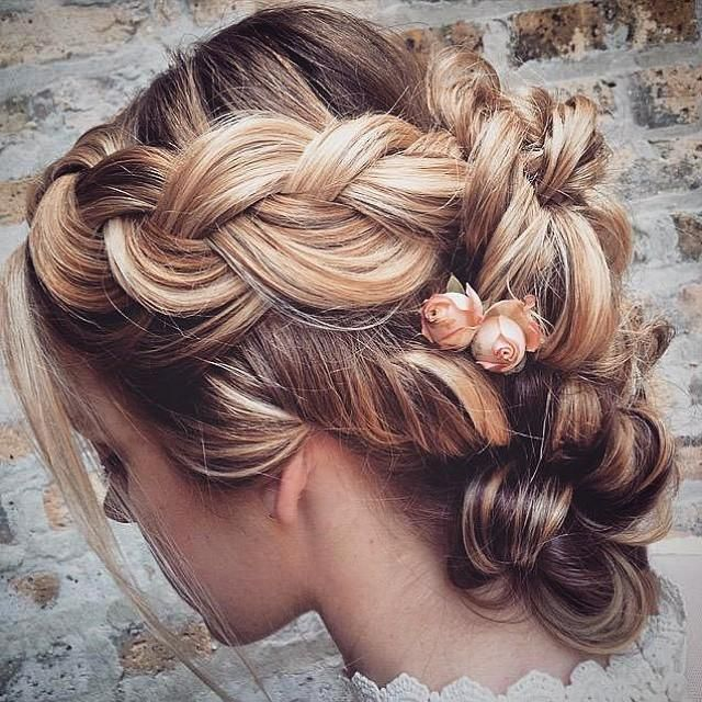 Stunning Bridal Updo - Trends & Style