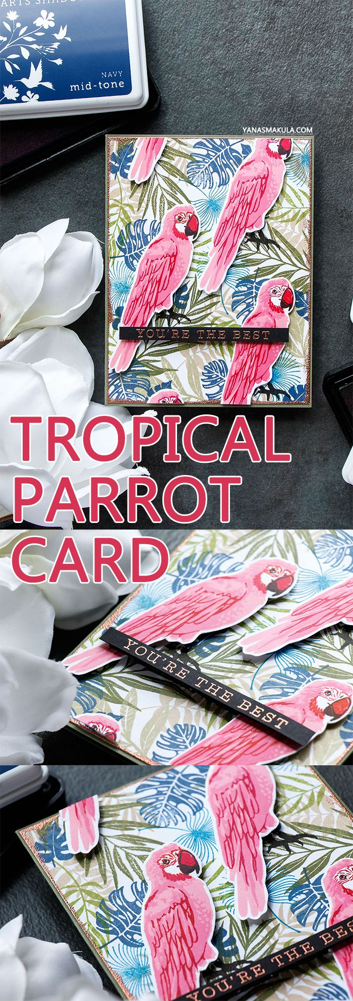 Hero Arts Tropical Pattern 20