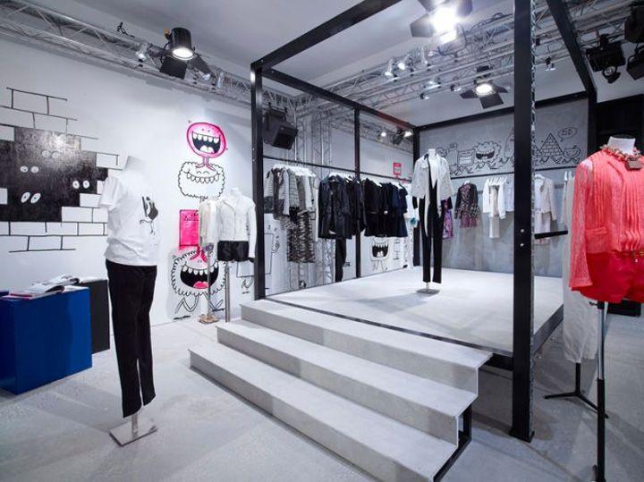 Colette  Chanel pop up shop Paris store design