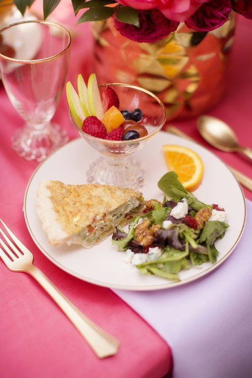 What to Serve at a Brunch Bridal Shower: Menus & Recipes