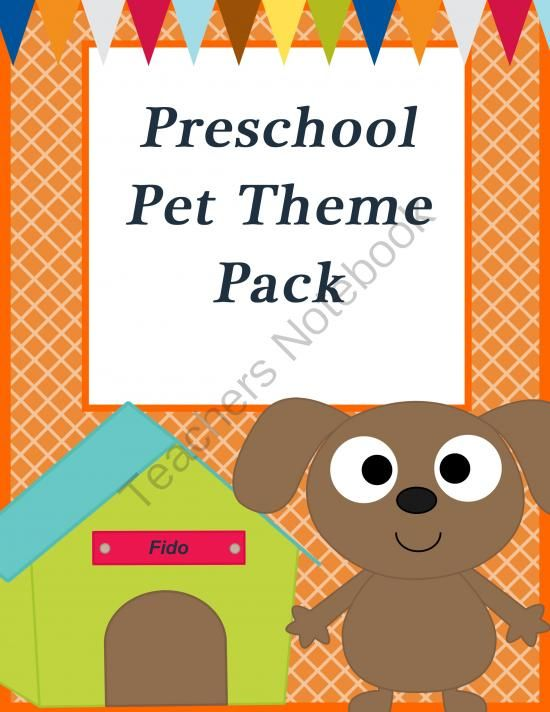 Pet Preschool Theme Pack from Homegrown Love 101 on TeachersNotebook.com -  (20 pages)  - This pet theme pack is great for preschoolers! This pack features cute bunnies, puppies, and more!