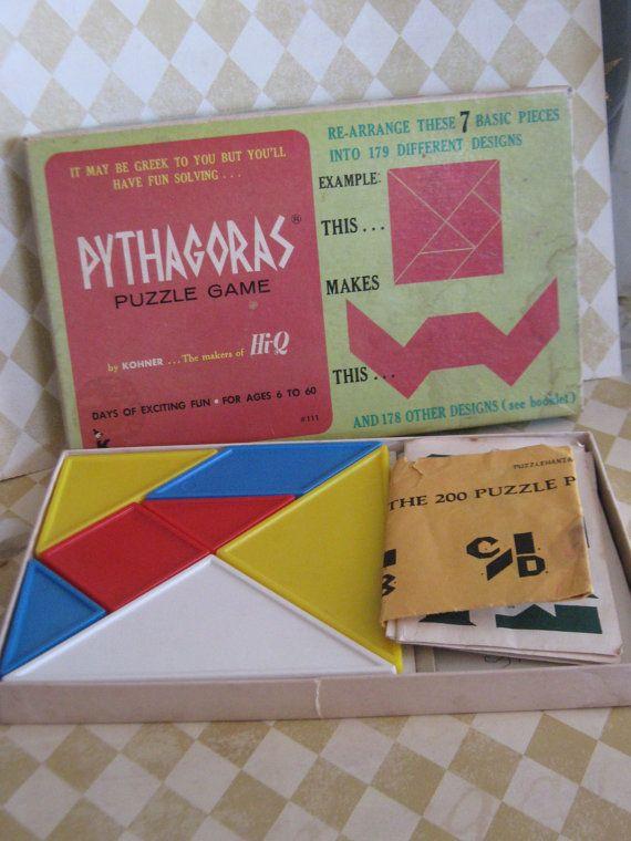 Pythagoras - Puzzle game
