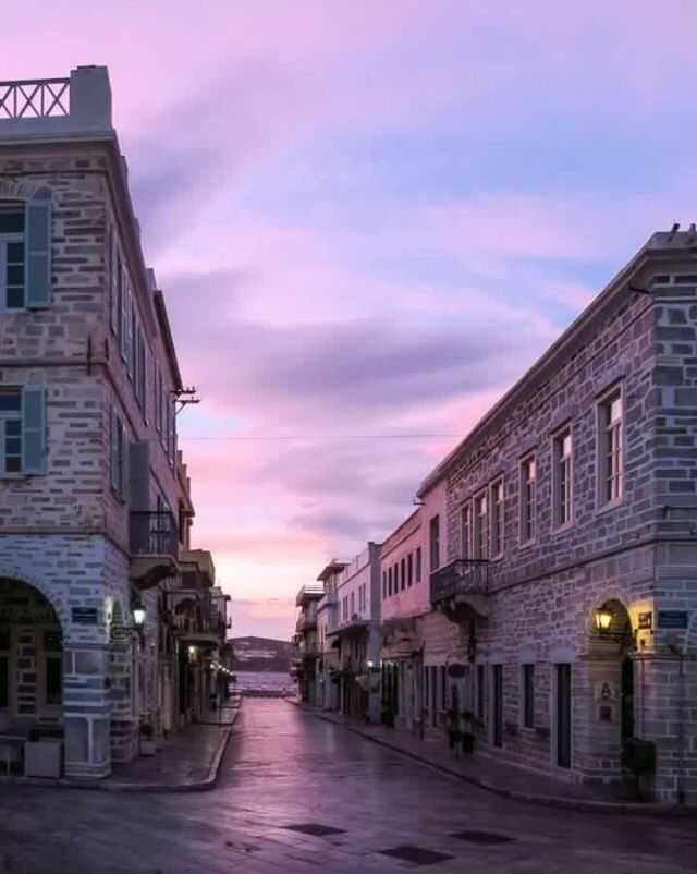#Ermoupolis #Syros ,at #dawn!