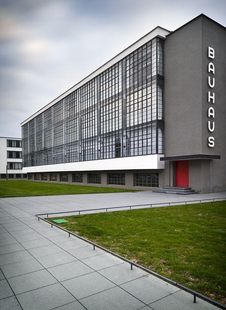The Bauhaus School at Dessau | Architect: Walter Gropius | Photographer: Photographer: Thomas Lewandovski